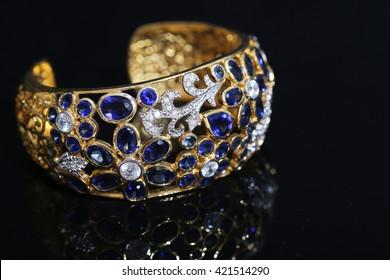bracelet, Bangle old thai antique style