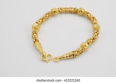bracelet gold meena