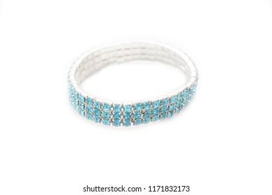 bracelet isolated on white background