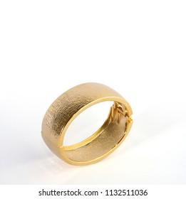 Bracelet for women on isolated background