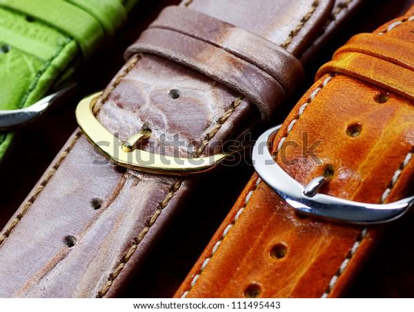 bracelets of leather