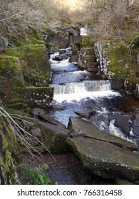Bracklinn Falls on a Winters Day