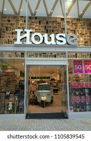 Bracknell, England - May 30, 2018: The House store in the Lexicon Shopping Center in Bracknell, England. House is an Australian homewares retailer which opened new stores in the UK in 2018