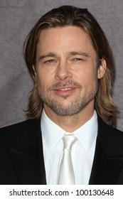 Brad Pitt at the 17th Annual Critics' Choice Movie Awards, Palladium, Hollywood, CA  01-12-12