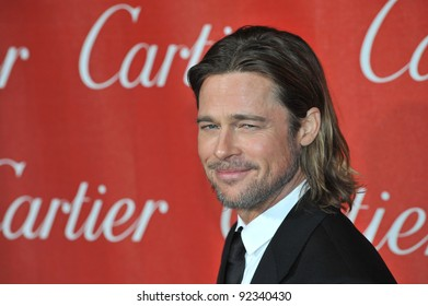 Brad Pitt at the 2012 Palm Springs Film Festival Awards Gala at the Palm Springs Convention Centre. January 7, 2012  Palm Springs, CA Picture: Paul Smith / Featureflash