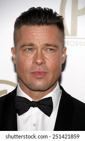 Brad Pitt at the 25th Annual Producers Guild Awards held at the Beverly Hilton Hotel in Los Angeles in Los Angeles, California, United States on January 19, 2014.