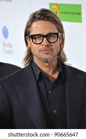 """Brad Pitt at the Los Angeles premiere of """"In The Land of Blood and Honey"""" at the ArcLight Theatre, Hollywood. December 8, 2011  Los Angeles, CA Picture: Paul Smith / Featureflash"""