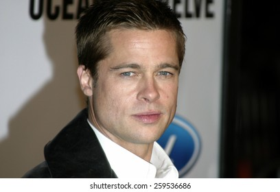 """Brad Pitt at the """"Ocean's Twelve"""" Los Angeles Premiere held at the Grauman's Chinese Theater in Los Angeles, California, United States on December 8, 2004."""