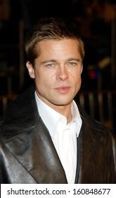 Brad Pitt at the premiere of OCEAN'S TWELVE, Los Angeles, CA, December 8, 2004