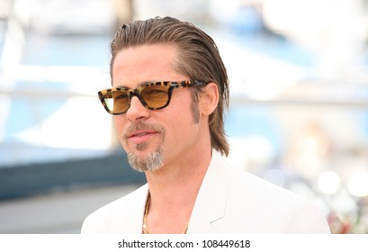Brad Pitt at the 'The Tree of Life' Photocall,  2011 Cannes Film Festival. 17/05/2011 Picture by: Henry Harris / Featureflash
