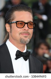 Brad Pitt at 'Tree Of Life' Premiere at the 2011 Cannes Film Festival. 16/05/2011 Picture by: Henry Harris / Featureflash