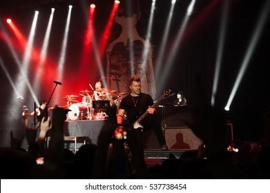 Brad Walst  Three Days Grace Live in Minsk 28 January 2016
