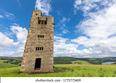 Bradfield, Sheffield, England - July 10 2020: Boots Folly on the Strines Moors near Bradfield on the outskirts of Sheffield.