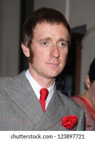 Bradley Wiggins  arriving for the 2012 GQ Men Of The Year Awards, Royal Opera House, London. 05/09/2012 Picture by: Alexandra Glen