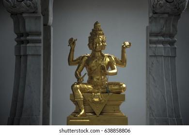 Brahma sculpture