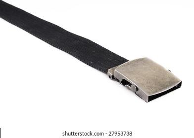 braided stripe on white background