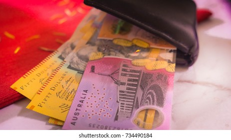 Braille AUS banknotes designing for blind people