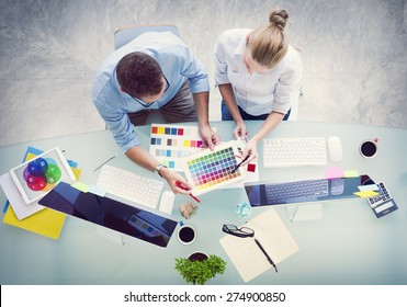 Brainstorming Planning Partnership Strategy Workstation Business Administration Concept