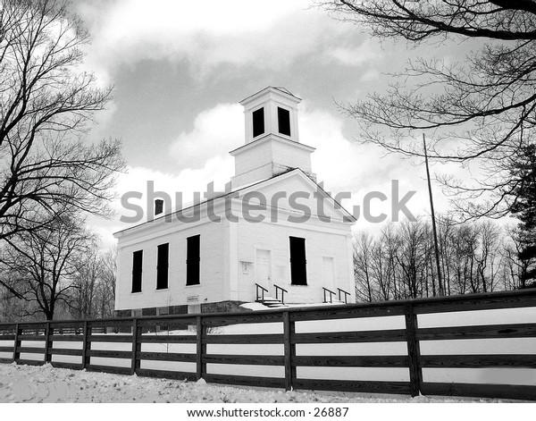 Braintree Hill Church in Central Vermont