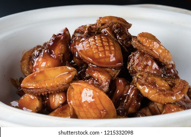 Braised abalone creative dish