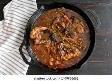 Braised Lamb Chops with Apricots and Sage