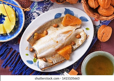 Braised milkfish belly in soy sauce  - A Popular Taiwan food