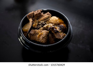 Braised Short Ribs - Korean Food Galbi jjim