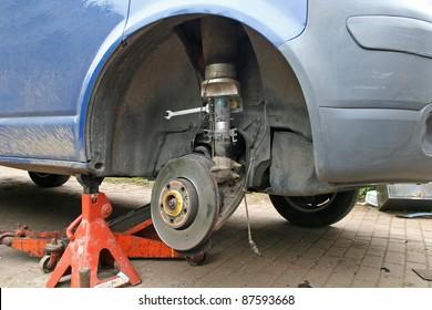 brake disc on van