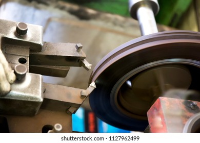 Brake disc skimming
