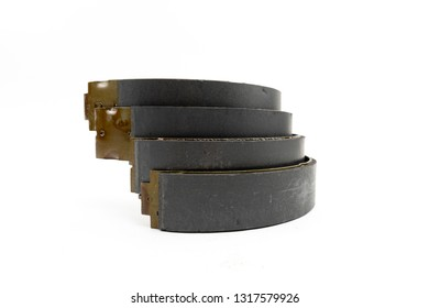 brake shoes. on a white background