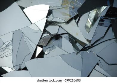 Braking Glass close up