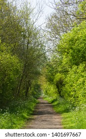Brampton Valley Way, part of the Midshires Way, was once the railway from Northampton to Market Harborough, closed in 1981. It is now a footpath through Northamptonshire countryside.