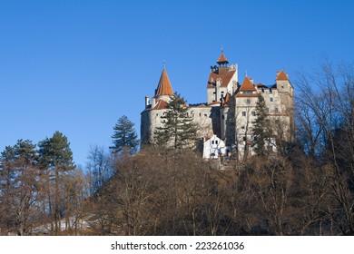 Bran Castle of Dracula , situated near Brasov Romania