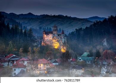 Bran castle Dracula castle in Transilvania ,Romania