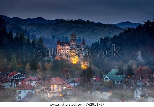 Bran kasteel Dracula kasteel in Transilvania, Roemenië