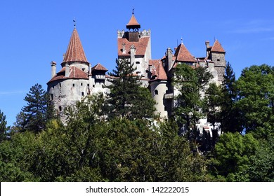 Bran Castle, in the historic province of Transylvania, Romania. Alleged residence of Count Dracula