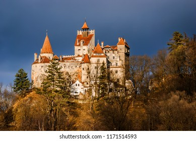 Bran Castle, Transylvania in Romania. Border between Wallachia and Transylvania is known for the myth of Dracula.
