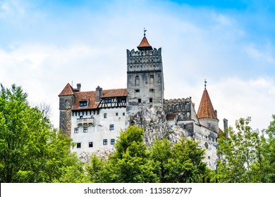 Bran, Romania: The Bran Castle, situated near Bran and in the immediate vicinity of Brașov, on the border between Transylvania and Wallachia