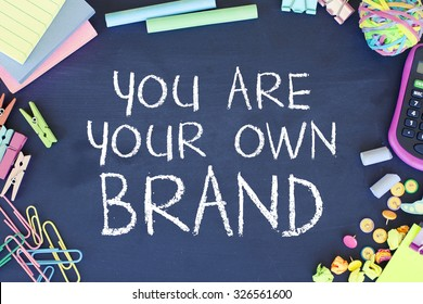 Brand / Confidence / Entrepreneurship Concept Background