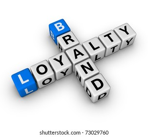 brand and customer loyalty crossword