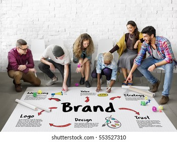 Brand Marketing Strategy Commercial Business Concept