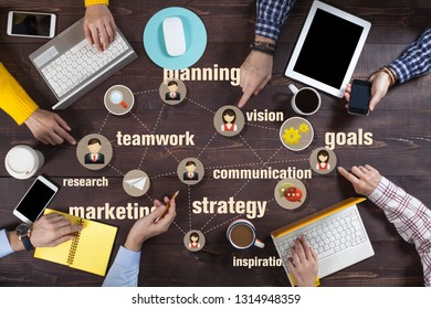 Brand Marketing Strategy or recruitment/ HR Commercial Business Concept