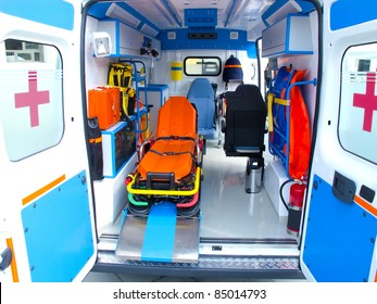 brand new ambulance for the hospital