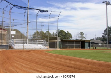 Brand new baseball field