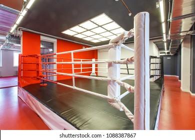 brand new gym interior. Combat room