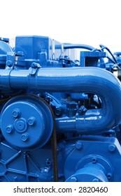 Marine Diesel Engine Images, Stock Photos & Vectors