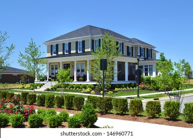 Brand New Suburban American Dream Home with Large Front Porch