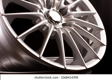 Brand new vehicle rims made from aluminum alloy