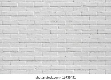 Brand new white appartment building wall
