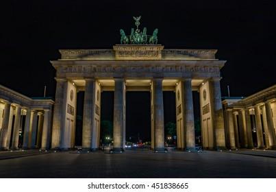 Brandenburg Gate I